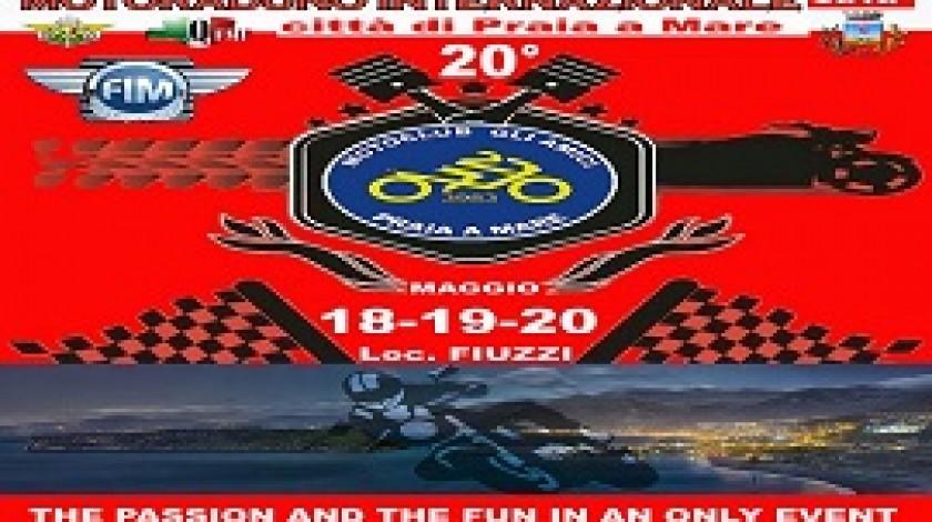 Eventi a Praia a Mare 20° Motoraduno 18/20 Maggio 2018
